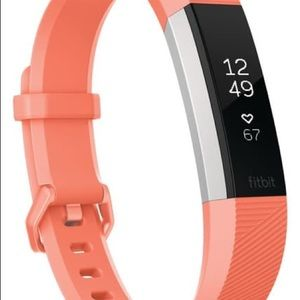 Fitbit Accessories - Fitbit Coral Alta HR Heart Rate + Fitness Tracker